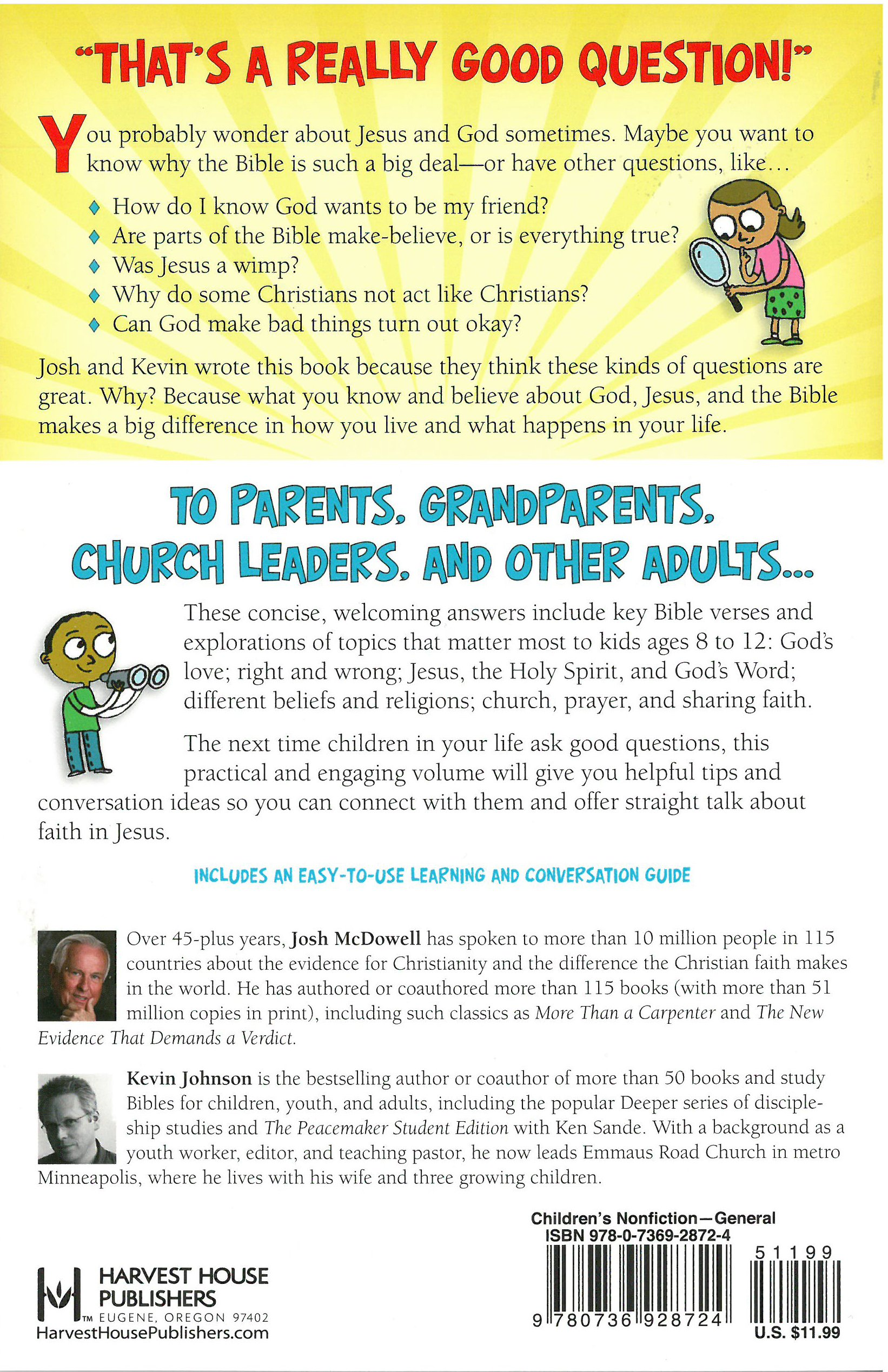 the awesome book of bible answers for kids josh org